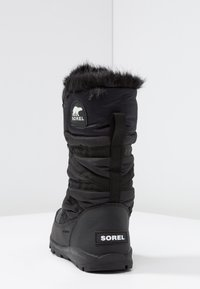 Sorel - WHITNEY TALL LACE  - Vinterstøvler - black - 5