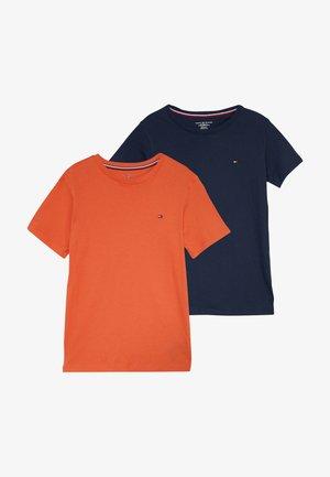 TEE 2 PACK  - Basic T-shirt - orange