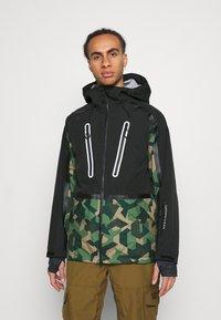 Superdry - EXPEDITION SHELL JACKET - Ski jacket - green - 0