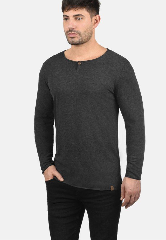 IRENO - Maglietta a manica lunga - charcoal