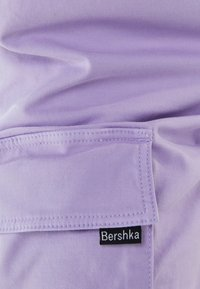 Bershka - Cargo trousers - mauve - 5