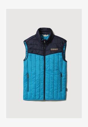 Waistcoat - tile blue