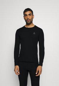 ODLO - LONG ACTIVE WARM SET - Dlouhé spodní prádlo - black - 3