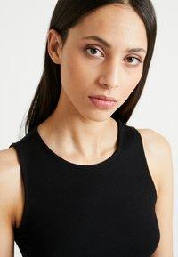 Even&Odd Tall - BASIC MAXI DRESS - Vestido largo - black - 4