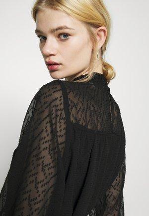 ONLJANET SMOCK DRESS - Day dress - black
