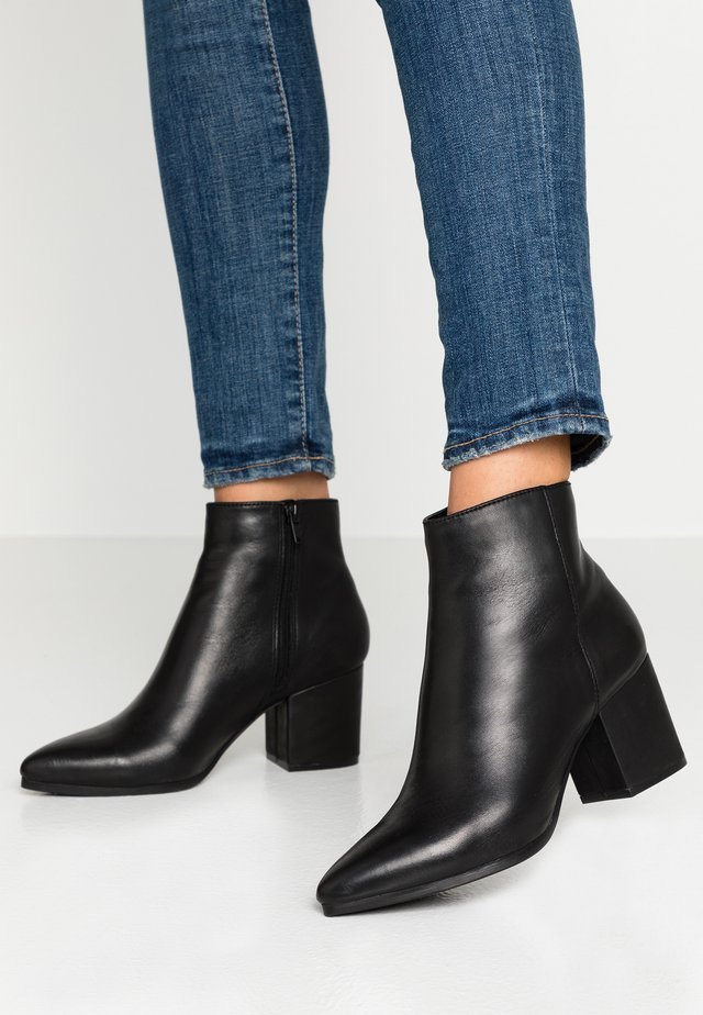 FRALISSI WIDE FIT - Boots à talons - black