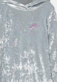 Nike Sportswear - HOOD - Day dress - silver - 2