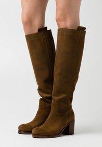 Shabbies Amsterdam - Platform boots - brown - 0
