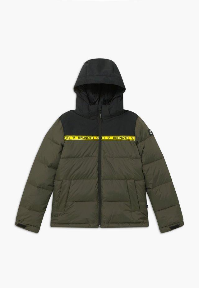 ROLF BOYS - Snowboardová bunda - pine grey