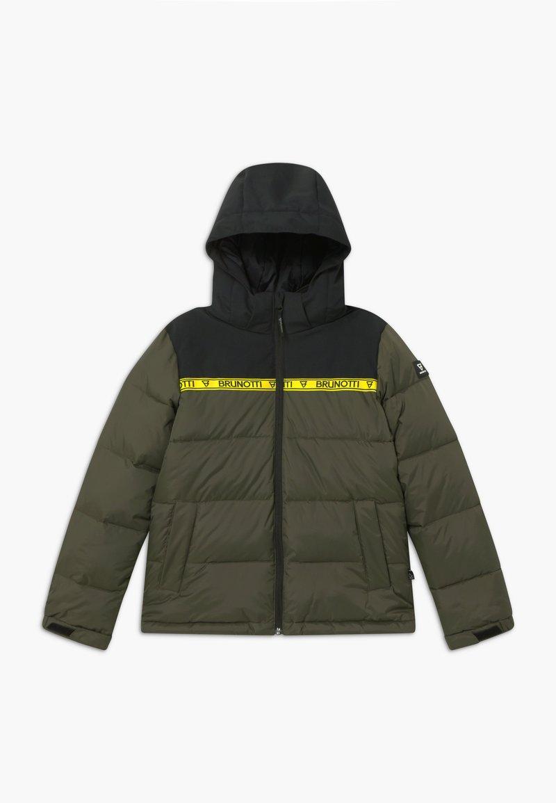 Brunotti - ROLF BOYS - Snowboard jacket - pine grey