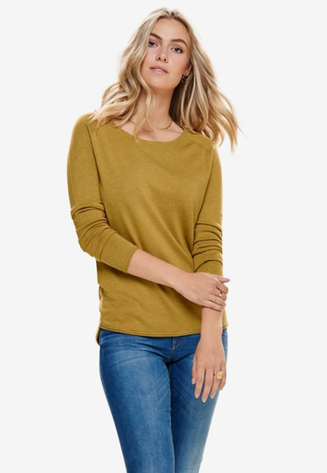 ONLMILA LACY LONG - Pullover - chai tea