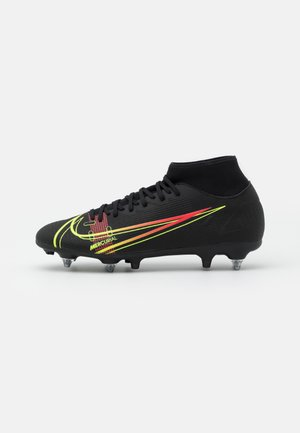 MERCURIAL 8 ACADEMY SG-PRO AC - Screw-in stud football boots - black/cyber/off noir