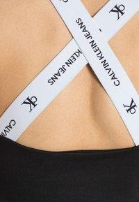 Calvin Klein Jeans - SQUARE NECK TANK - Top - black - 4
