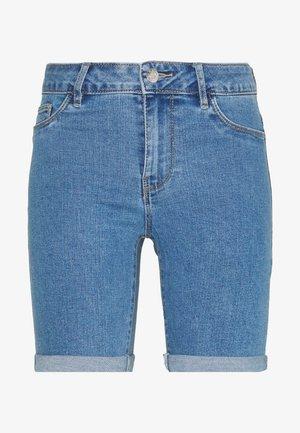 ONLSUN ANNE - Denim shorts - light blue denim
