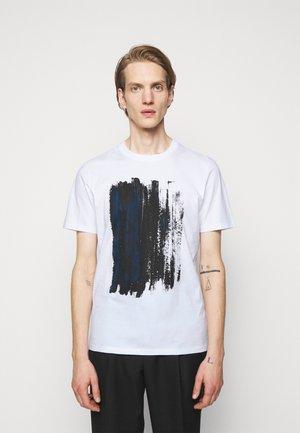 DRAINT - Print T-shirt - black
