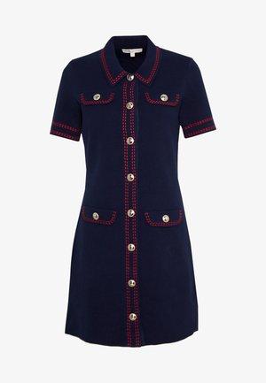 ROSIE - Shift dress - marine