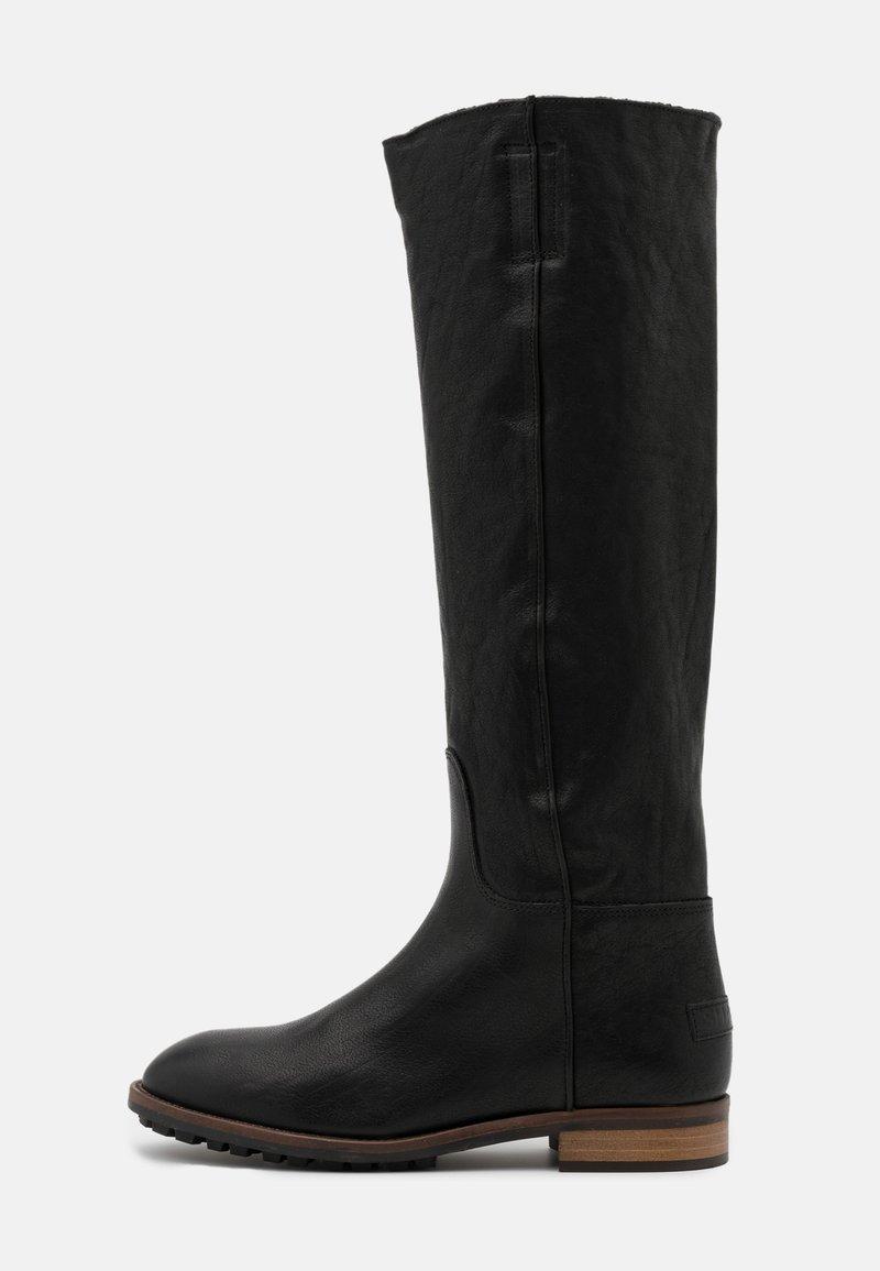 Shabbies Amsterdam - Vysoká obuv - black
