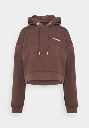 FAITH HOODIE - Sweatshirt - choc