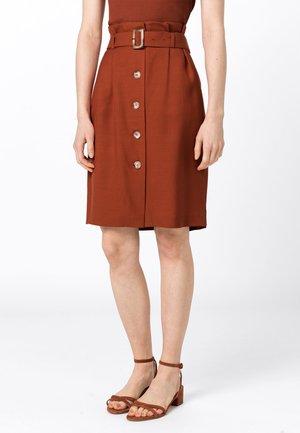 MIT TENCEL™ - A-line skirt - copper