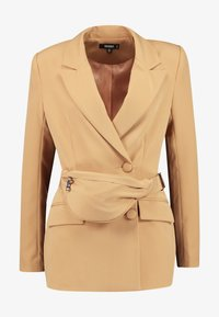 Missguided - DOUBLE BREASTED BUMBAG - Blazer - camel - 4