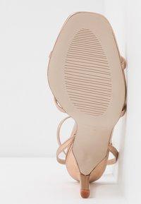 RAID - ANNIE - High heeled sandals - rose gold - 6