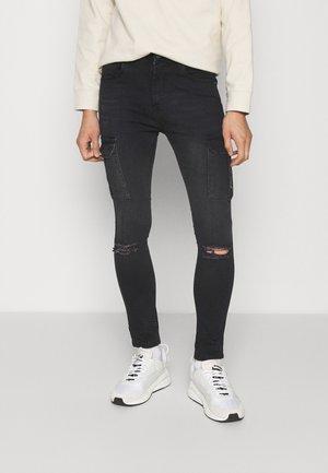 FALCO - Jeans Skinny Fit - black