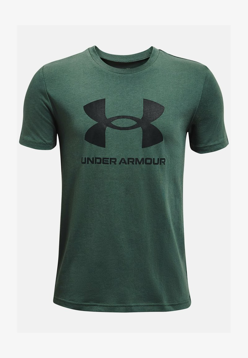 Under Armour - Print T-shirt - toddy green