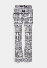 LASCANA - ETHNO PANTS - Pyjama bottoms - black - 0