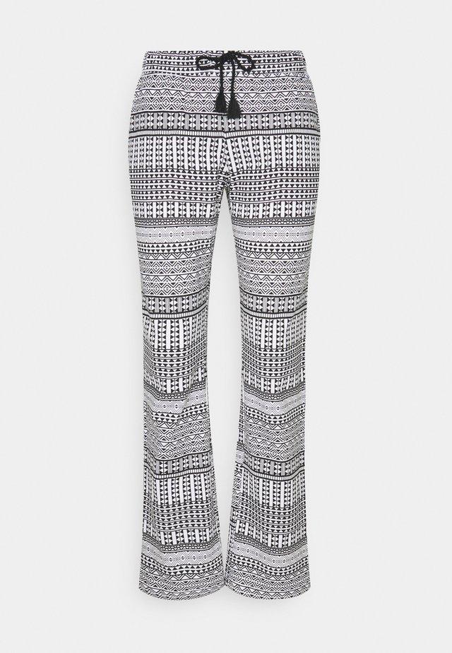 ETHNO PANTS - Pyžamový spodní díl - black