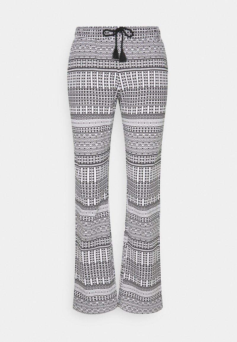 LASCANA - ETHNO PANTS - Pyjama bottoms - black