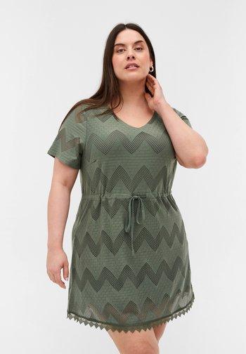 Tunic - agave green