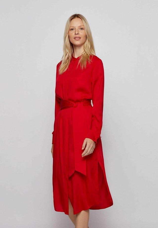 DESTORY - Shirt dress - open pink