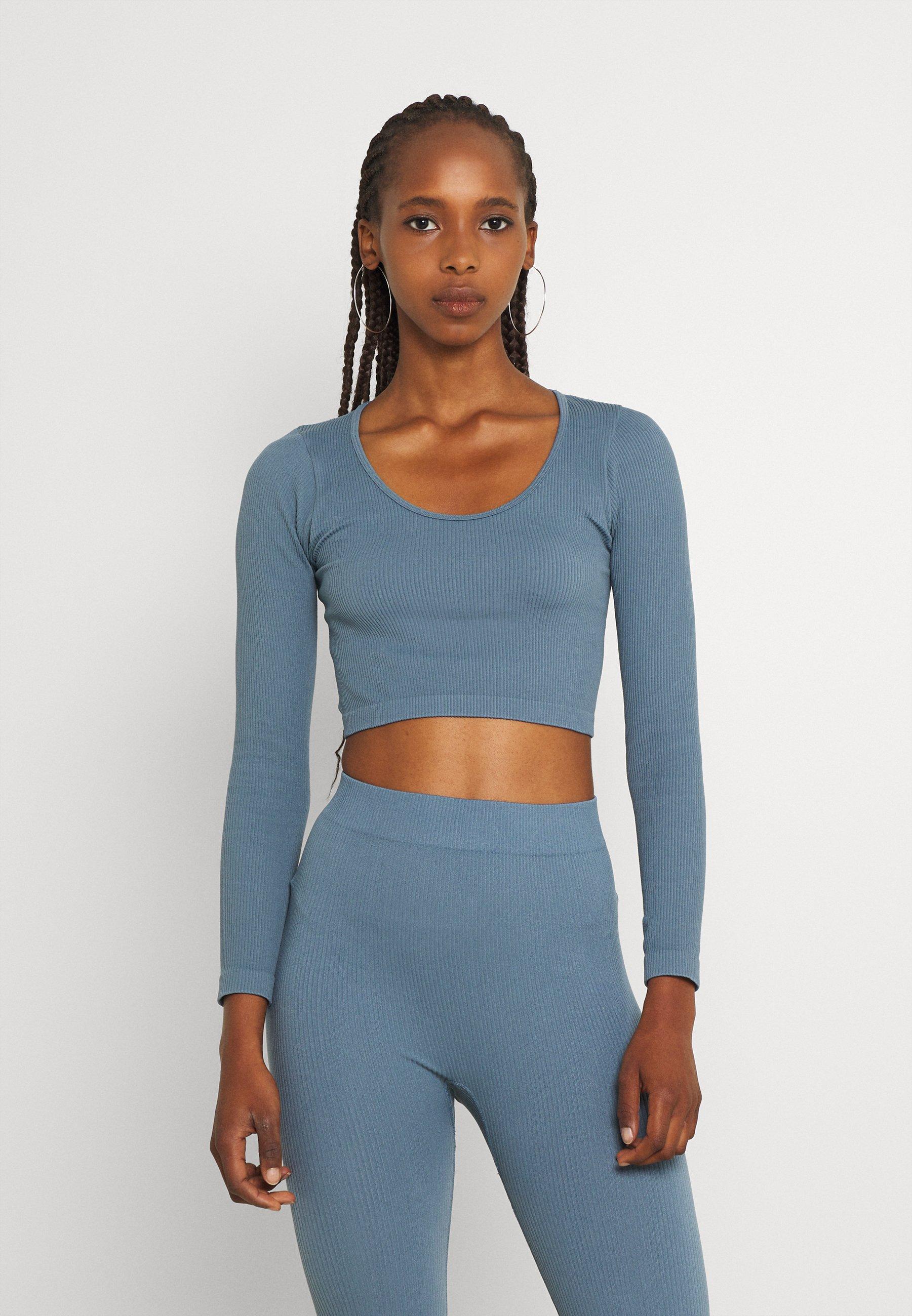Women ONLGWEN CROP - Long sleeved top