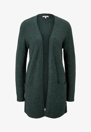 Cardigan - midnight forest green mélange