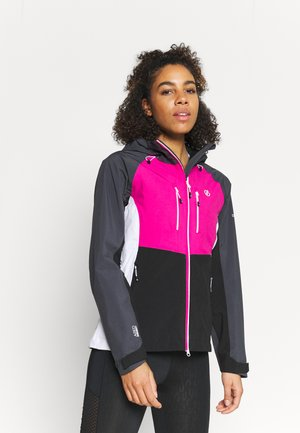 DIVERSE JACKET - Outdoor jacket - active pink/black