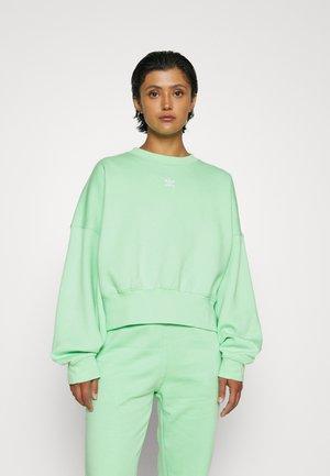 Sweatshirt - glory mint
