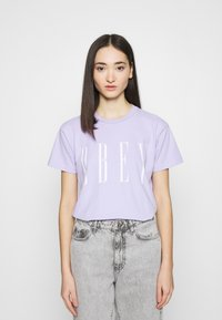 Obey Clothing - NEW - Print T-shirt - periwinkle - 0