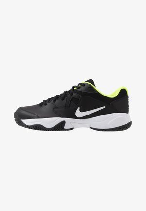 COURT LITE 2 - Multicourt tennis shoes - black/white/volt