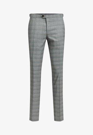 ILLAN - Trousers - blended light grey