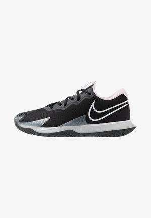 AIR ZOOM VAPOR CAGE 4 - Multicourt tennis shoes - black/white/pink foam/dark smoke grey
