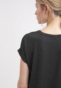 ONLY - ONLMOSTER ONECK - T-shirts - black - 4