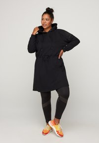 Active by Zizzi - Robe en jersey - black - 1