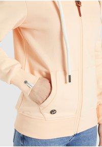 khujo - WANARI - Zip-up sweatshirt - apricot - 6