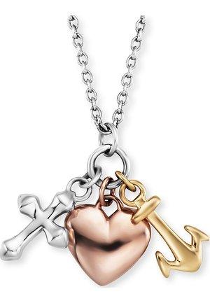 ENGELSRUFER DAMEN-KETTE KETTE GLAUBE, LIEBE & HOFFNUNG 925ER SIL - Necklace - tricolor