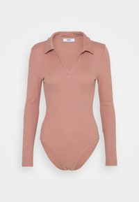 ONLY - ONLJESSICA BODY - Long sleeved top - old rose - 0