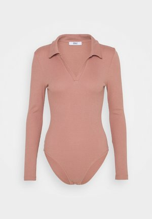 ONLJESSICA BODY - Long sleeved top - old rose
