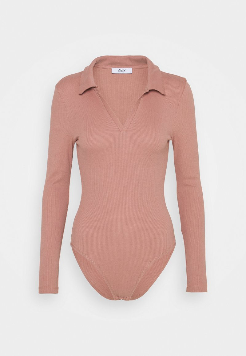 ONLY - ONLJESSICA BODY - Long sleeved top - old rose