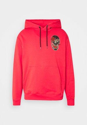 FA P/O FLEECE - Bluza z kapturem - carmine red