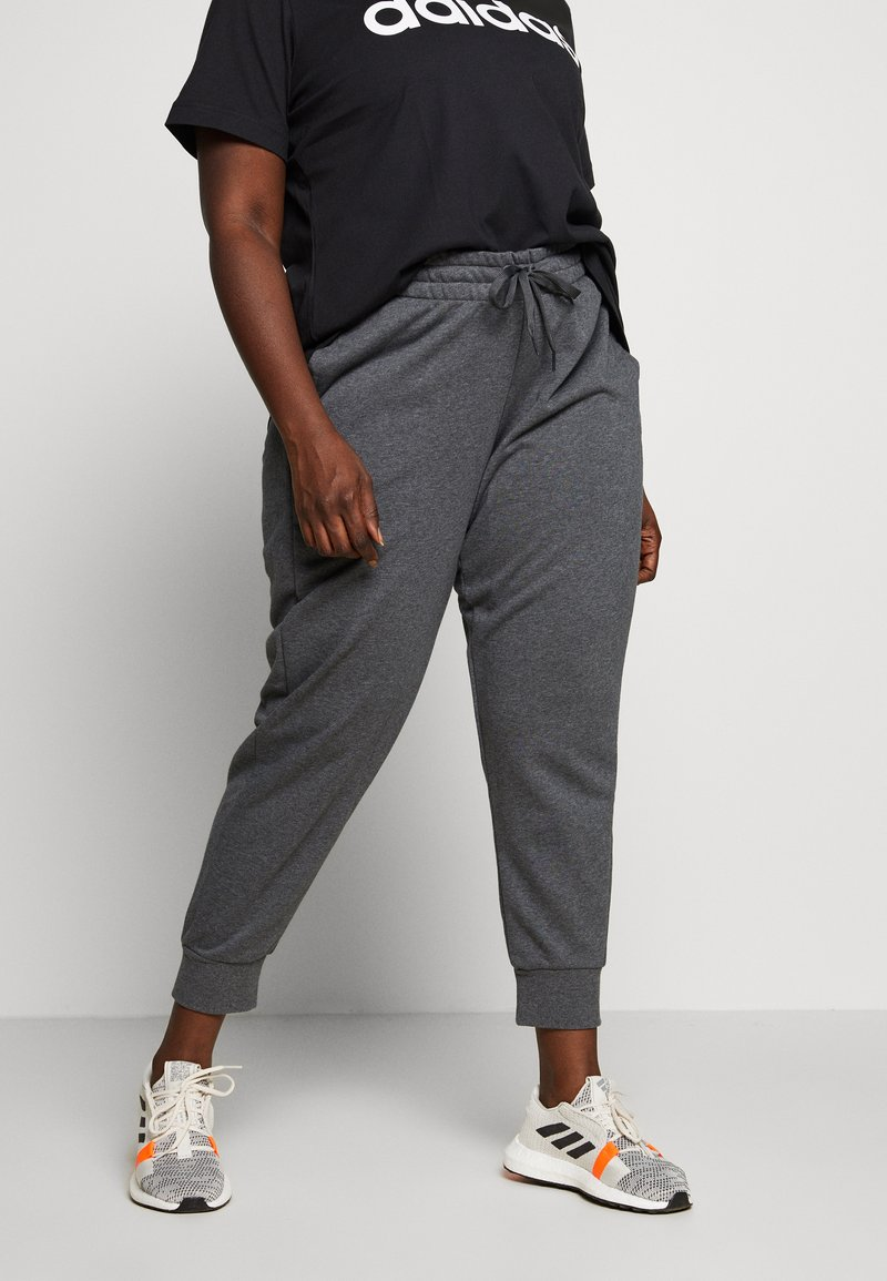 adidas Performance - PANT - Joggebukse - dark grey heather/purple
