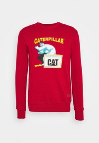 Caterpillar - ICE MAN GRAPHIC  - Sweatshirt - red - 0